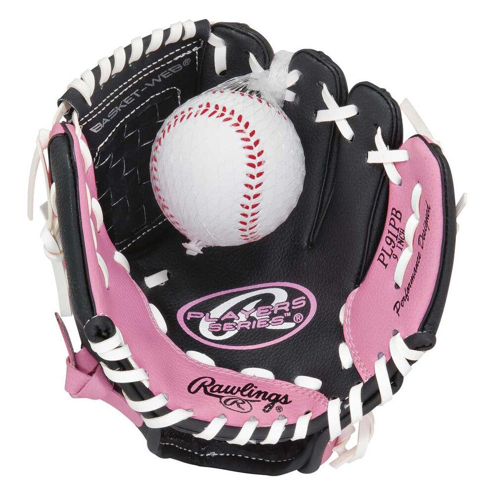 Rebel Sport Inner Gloves: Rawlings RHT 9in Glove And Ball Set