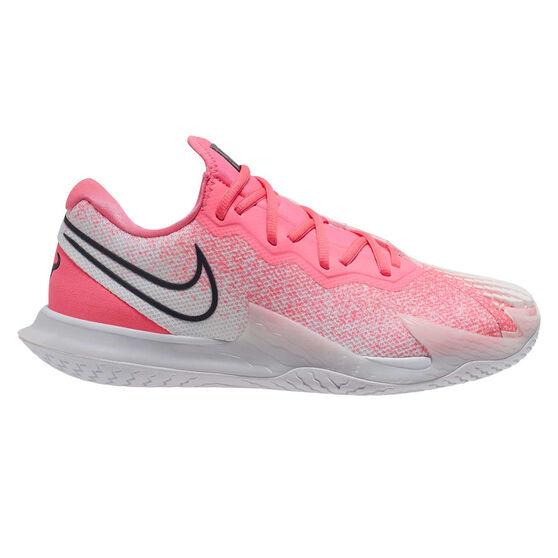 Nike Air Zoom Vapor Cage 4 Hardcourt Mens Tennis Shoes, Pink / White, rebel_hi-res