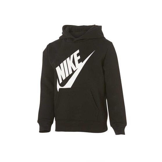 Nike Boys Futura Hoodie Black 6, Black, rebel_hi-res
