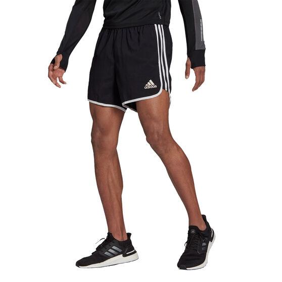 adidas Mens Marathon 20 Primeblue Shorts, Black, rebel_hi-res