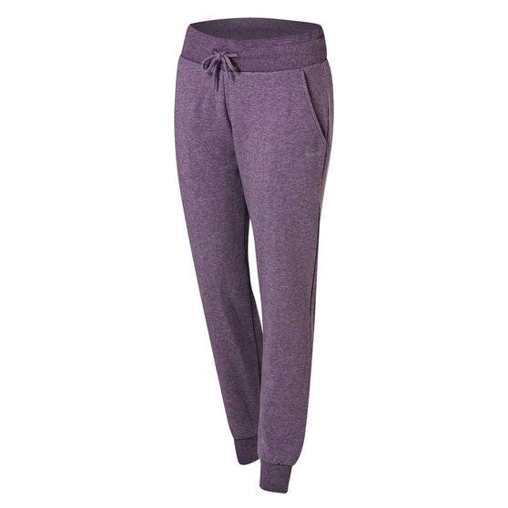 Ell & Voo Womens Harper Fleece Pants, Purple, rebel_hi-res