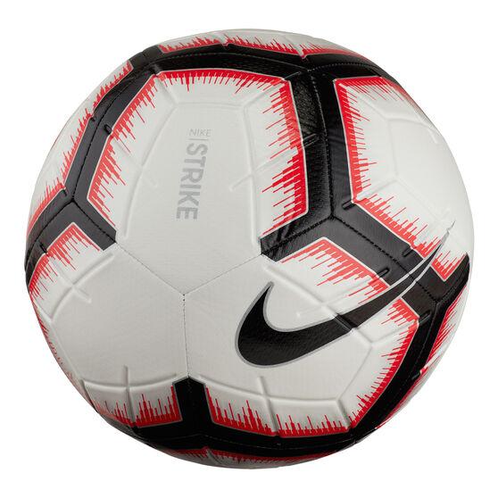 Nike A-League Strike Football Ball White / Black 3, White / Black, rebel_hi-res