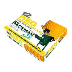 Paceman Bowling Machine 12 Pack Regular Balls, , rebel_hi-res
