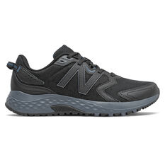 New Balance MT410 v7 Mens Trail Running Shoes Black US 7, Black, rebel_hi-res