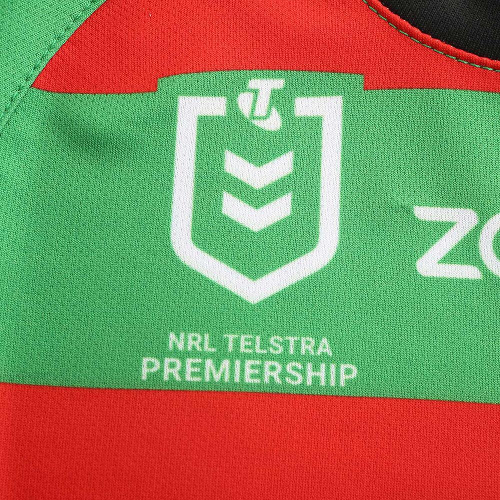 South Sydney Rabbitohs 2020 Infants Home Kit Green Red 2 Rebel Sport