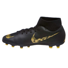 Nike Mercurial Superfly VI Club Mens Football Boots Black / Gold US Mens 7 / Womens 8.5, Black / Gold, rebel_hi-res