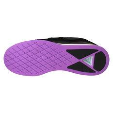 Reebok Legacy Lifter Womens Training Shoes Black / Purple US 6, Black / Purple, rebel_hi-res