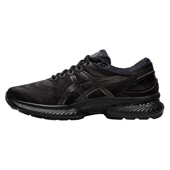 Asics GEL Nimbus 22 Mens Running Shoes, Black, rebel_hi-res