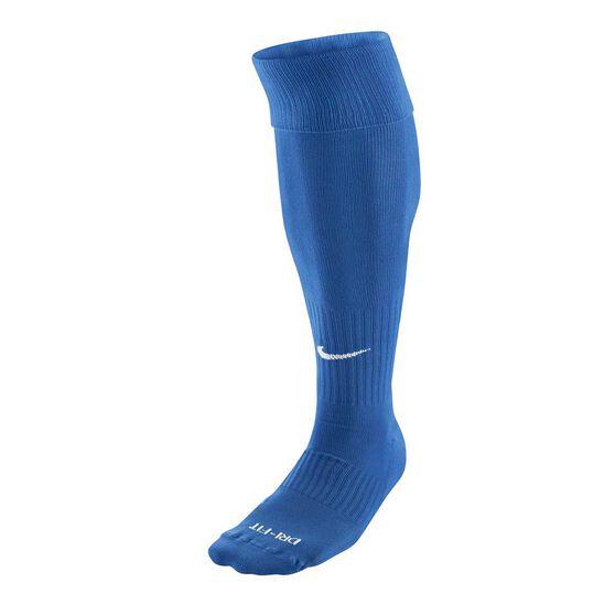 Nike Dri FIT Classic Football Socks, Blue / White, rebel_hi-res