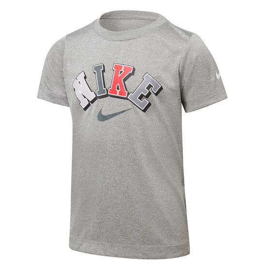 Nike Boys Collegiate Dri-FIT Tee, Grey, rebel_hi-res
