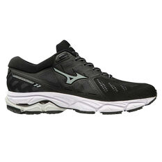 Mizuno Wave Ultima 11 Womens Running Shoes Black / Red US 6, Black / Red, rebel_hi-res
