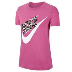 Nike Womens Sportswear Tee Pink XS, Pink, rebel_hi-res