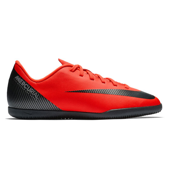 718249d738a Nike Mercurial Vaporx 12 Club CR7 Junior Indoor Soccer Shoes
