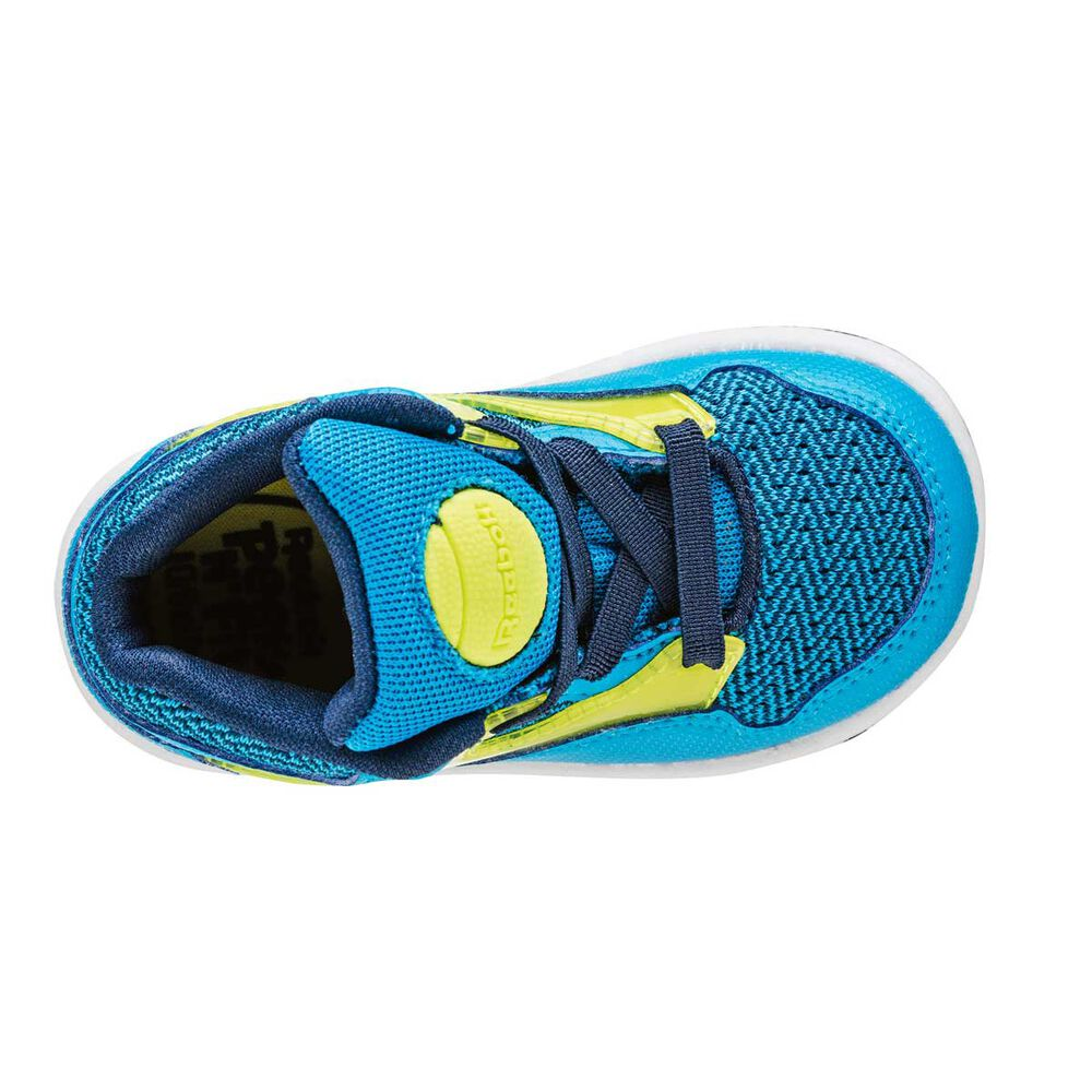 71a91e5eed6 Reebok Versa Pump Omni Lite Toddlers Shoes Blue   Yellow US 5 ...
