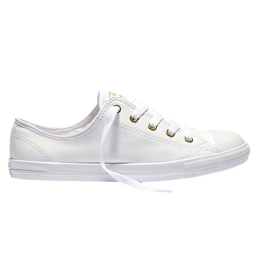 free shipping 6ea2b a3a01 Converse Chuck Taylor All Star Dainty Womens Casual Shoes White   Gold US 7    Rebel Sport