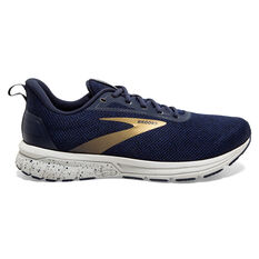 Brooks Anthem 3 Mens Running Shoes Navy/Grey US 7, Navy/Grey, rebel_hi-res