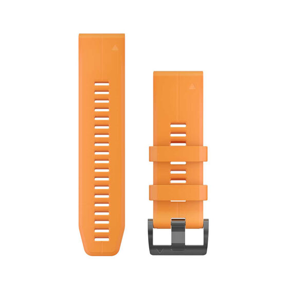 Garmin QuickFit 26mm Solar Flare Orange Adjustable Watch Band, , rebel_hi-res