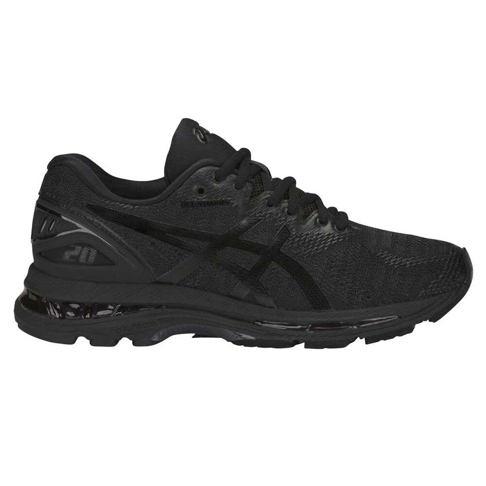 159363437cb Asics GEL Nimbus 20 Womens Running Shoes Black   White US 6