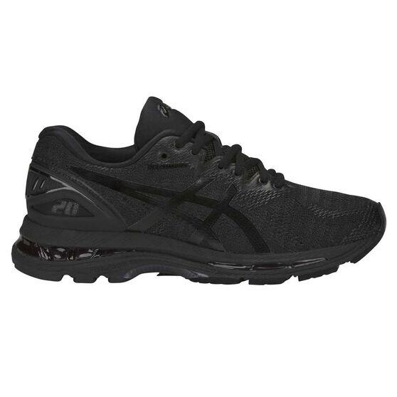 meet 3e69d d2469 Asics GEL Nimbus 20 Womens Running Shoes, Black   White, rebel hi-res