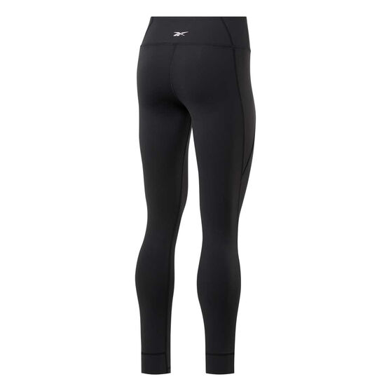 Reebok Womens Lux 2 Tights, Black, rebel_hi-res
