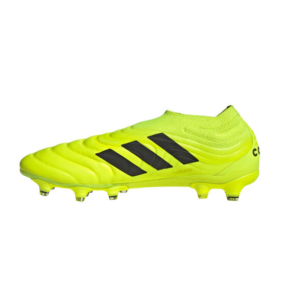 adidas Copa 19+ Football Boots, Yellow / Black, rebel_hi-res