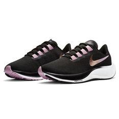 Nike Air Zoom Pegasus 37 Womens Running Shoes, Black, rebel_hi-res