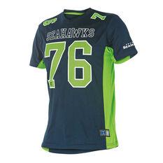Seattle Seahawks Mens NFL Mesh Tee, , rebel_hi-res