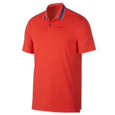 Nike Mens Dri FIT Vapor Golf Polo Red XS, Red, rebel_hi-res