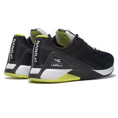 Reebok Nano X1 Mens Training Shoes, Black/White, rebel_hi-res