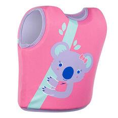 Speedo Infant Sea Squad Float Vest Pink 1-2, Pink, rebel_hi-res