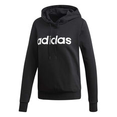adidas Womens Essentials Liner Pullover Hoodie Black XS, Black, rebel_hi-res