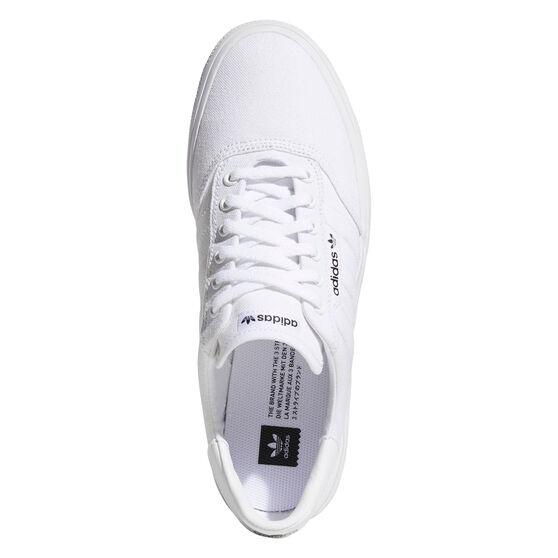 adidas 3MC Casual Shoes, White/Gold, rebel_hi-res