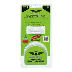 Achilles Type 1 Standard Mouthguard Clear Junior, Clear, rebel_hi-res