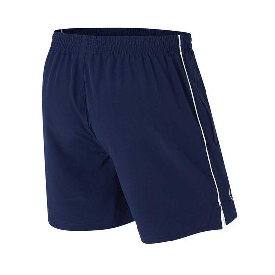 Carlton Blues Mens Core Training Shorts, Blue, rebel_hi-res