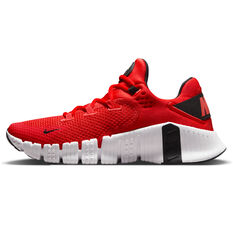 Nike Free Metcon 4 Mens Training Shoes Red/Black US 7, Red/Black, rebel_hi-res