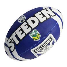 Steeden NRL Canterbury Bulldogs Supporter Rugby League Ball, , rebel_hi-res