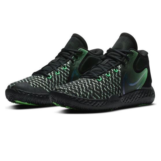 Nike KD Trey 5 VIII Mens Basketball Shoes, Black/Green, rebel_hi-res