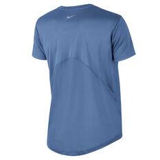 a70ce717 ... Nike Womens Miler Running Tee Blue XS, Blue, rebel_hi-res