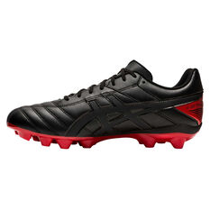 Asics Lethal Speed RS 2 Football Boots Black US Mens 6 / Womens 7.5, Black, rebel_hi-res