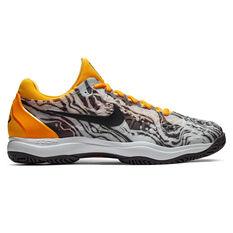 Nike Air Zoom Cage 3 Mens Tennis Shoes White / Grey US 7, White / Grey, rebel_hi-res
