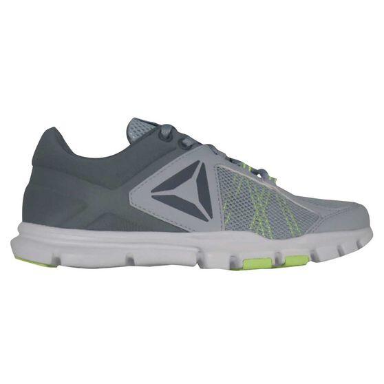 b47ae3c4f036 Reebok Yourflex Trainette 9 Womens Training Shoes Grey   Yellow US 7 ...