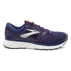 Brooks Glycerin 16 Womens Running Shoes Navy / Coral US 6, Navy / Coral, rebel_hi-res