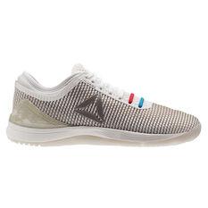 Reebok CrossFit Nano 8.0 Mens Training Shoes White / Grey US 7, White / Grey, rebel_hi-res