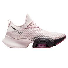 Nike Air Zoom SuperRep Womens Training Shoes Pink / Maroon US 6, Pink / Maroon, rebel_hi-res
