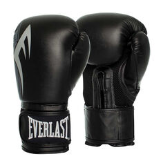 Everlast Pro Style Power Training Gloves Black 8oz, Black, rebel_hi-res