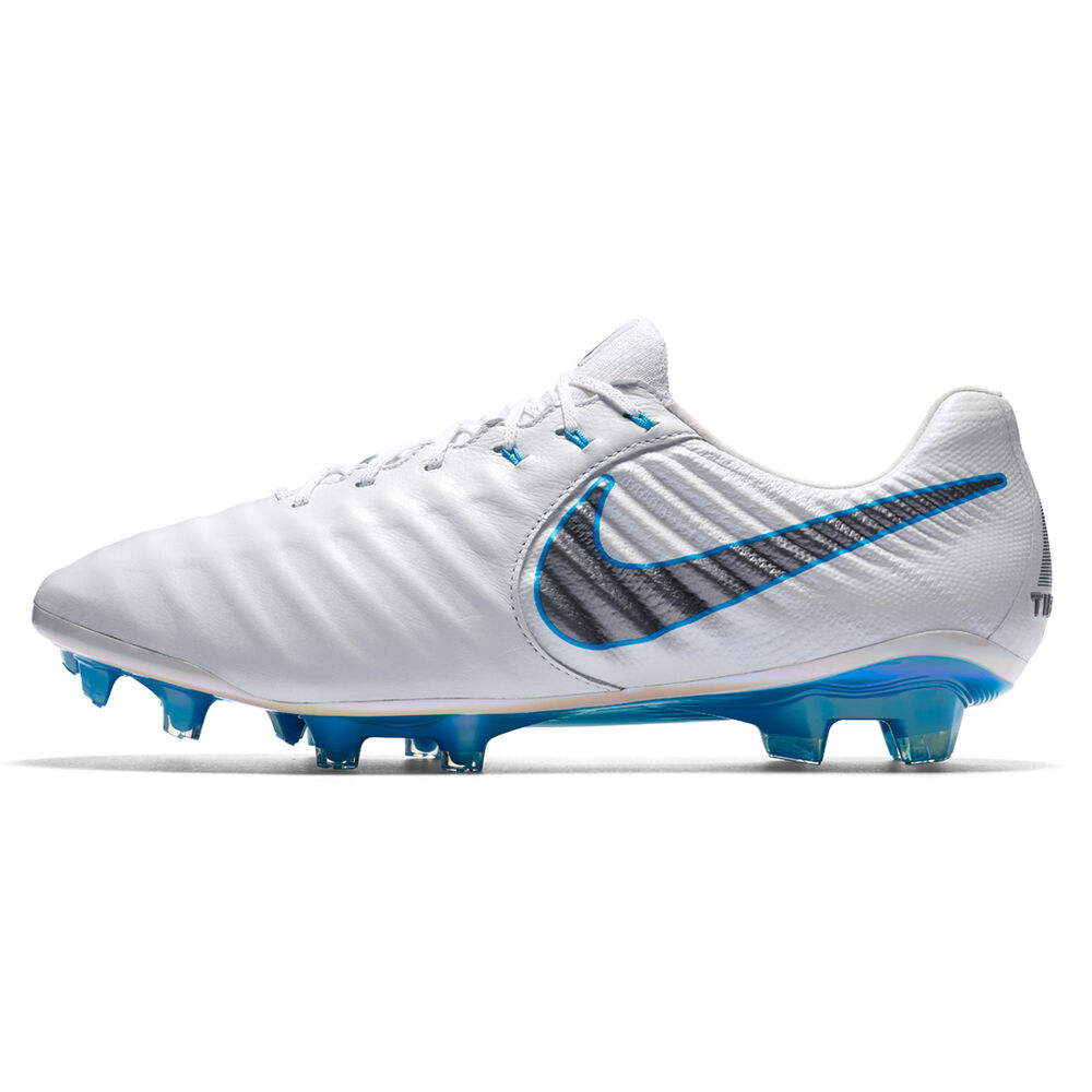 c88918a39 Nike Tiempo Legend VII Elite Mens Football Boots White   Grey US 9.5 ...