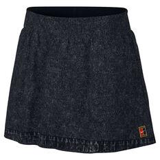 df6b5c3ea NikeCourt Womens Dri-FIT Slam Skirt Black / White XS, Black / White, ...