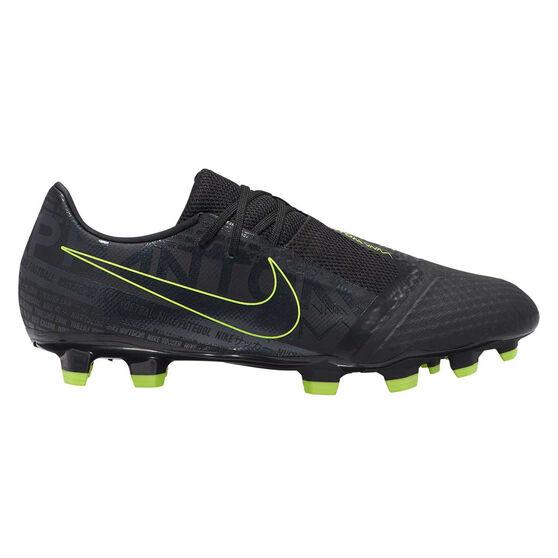 Nike Phantom Venom Academy Football Boots, Black / Yellow, rebel_hi-res