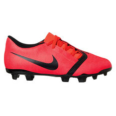 Nike Phantom Venom Club Kids Football Boots Red / Silver US 10, Red / Silver, rebel_hi-res