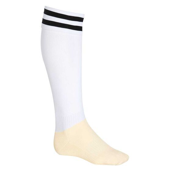 Burley Football Socks, White  /  black, rebel_hi-res